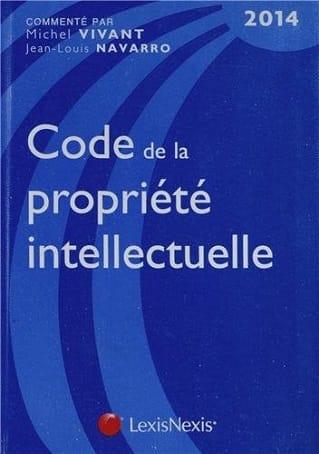 Code de la propriété intellectuelle 2014