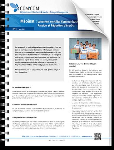 Mécénat : comment concilier communication, passion et réduction d'impôt