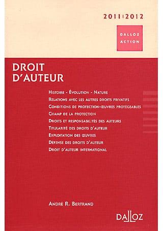 Droit d'auteur 2011 – 2012