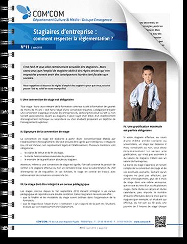 Stagiaires d'entreprise : comment respecter la réglementation ?