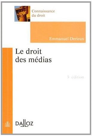 Le droit des médias ? 5ème édition